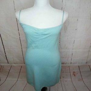 St John Evening Womens Dress Green Wool Blend Knit